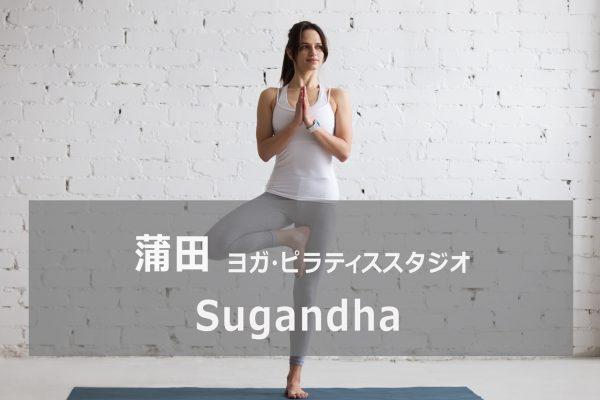 Sugandha(スガンダ) 蓮沼・蒲田ヨガ教室
